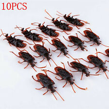 10PCS Lot Prank Funny Trick Joke Special Lifelike Model Fake Cockroach Roach Toy