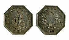 s368) FRANCIA - Gettone 1860 - Commission d'Espertise Commerce des Parines AG