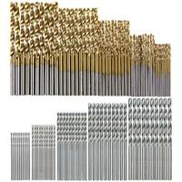 100pcs HSS High Speed Steel Twist Drill Bit Set Woodworking Tool 1/1.5/2/2.5/3mm