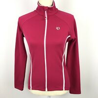 Pearl Izumi Select Series Women's Cycling Jacket Small Hot Pink White Full Zip