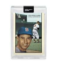 Topps Project 2020 #90 Ted Williams 1954 by Oldmanalan Preorder