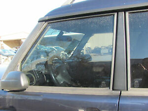 LAND ROVER DISCOVERY LEFT DRIVER FRONT WINDOW GLASS 1999-00-01-02-03-2004