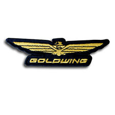 Goldwing Patch Embroidered Iron on Badge Emblem applique Motorcycle Honda Japan
