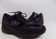 Scarpa donna rocco barocco camoscio viola shoes 39 firmate  lacci stringhe