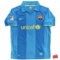 Authentic Nike Barcelona 2007-09 Away Jersey. Size M, Excellent Condition.