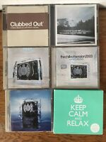 Chillout music CD bundle collection Ministry Of Sound Sessions Winter Classical