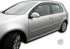 DVW31150 VW GOLF 5 mk5 GTI 5-DOOR 2003-2009 WIND DEFLECTORS  4pc HEKO TINTED