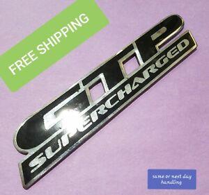 """Bin29 2001 Pontiac Grand Prix Rear Trunk Lid Emblem Logo OEM """"GTP SUPER CHARGED"""""""