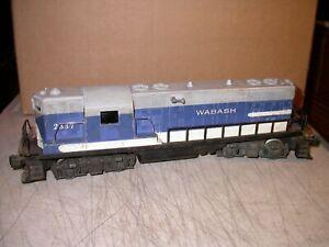 Postwar Lionel 2337 Wabash GP-7 Diesel Locomotive Needs Help