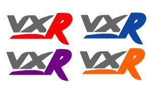 X2 VXR Sticker/Decal Astra Corsa Vectra Insignia ZAFIRA LOGO