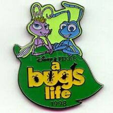 Atta &  Flik dated 1998  A Bug's Life authentic pin original Disney pin