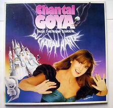 disque vinyl 33 Tours CHANTAL GOYA - L'étrange histoire du chateau hanté