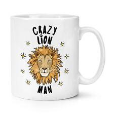 Crazy Lion Homme Stars 10 oz (environ 283.49 g) Tasse-Drôle Animal