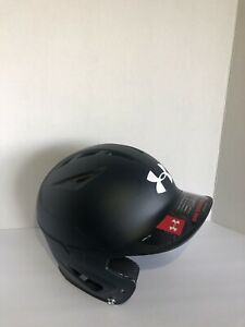 Under Armour Converge Tack Matte Adult Baseball/Softball Batting Helmet-Black