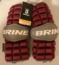 New listing NWT Brine Clutch Adult Lacrosse Arm Guards Sz. L Free Shipping
