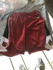 Vintage Louisville Cardinals Big East Basketball Shorts Size 2Xl