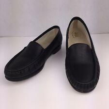 SAS Women's Tripad Comfort Footbed, Black Leather Shoes Size 9.5 M