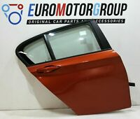 BMW Porta Posteriore Destro Finestra Bloccare 1' F20 Valencia Arancione Metallic