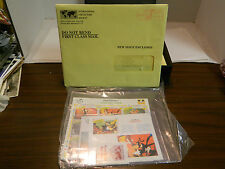 (4) Disney Stamp Collections Symphony Hour, Aristocats, Wind Surf, Orphan's Ben