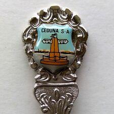 Ceduna SA Main Street Distance Marker Souvenir Spoon Teaspoon (T130)