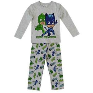 PJ Masks Kids Pyjama Long Set  Catboy and Geeko