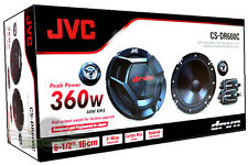 "JVC CS-DR600C 6.5"" Component Car Stereo Speakers 6 1/2 JVC CSDR600C Car Speakers"