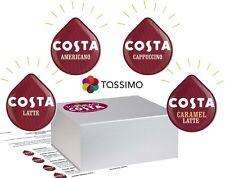 TASSIMO COSTA FULL VARIETY PACK  x 3  (LATTE + AMERICANO + CAPPUCCINO)