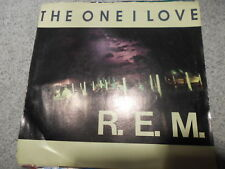 R.E.M.   THE ONE I LOVE   7 INCH 45RPM  WITH PICTURE SLEEVE   481
