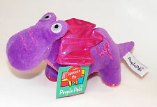 NWT Purple Dinosaur Dragon Plush Stuffed Animal Toy Sound Roar Pink