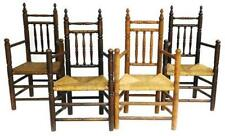 Assembled set of four Brewster style chairs, late 19th/ early 20th, th. Lot 47