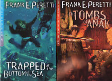 Complete Set Series - Lot of 8 Cooper Kids books by Frank Peretti (YA Teen)