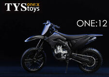 TYStoys 1/12 Off-Road Motorcycle Model Suitable For DAM SAS Black Hawk Fall