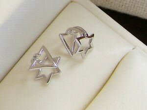 925 Sterling Silver Ear Cuff for Women 1 Pair Charming Zircon Clip on Earrings