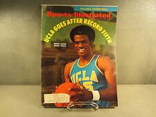 Vintage Sports Illustrated November 30, 1970 UCLA Bruin Sidney Wicks Cover