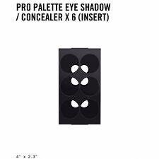 MAC Pro Palette Eye Shadow/ Concealer X 6 Insert Brand New In Box