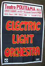 ELECTRIC LIGHT ORCHESTRA Teatro Politeama AREZZO ITALY 1972 CONCERT POSTER ELO