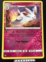 Carte Pokemon TOGEKISS 138/214 HOLO Reverse Soleil et Lune 10 SL10 FR NEUF