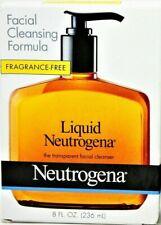 Liquid Neutrogena THE TRANSPARENT Facial Cleansing Formula 8oz each k9