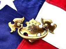 Bald Eagle Brass Antique Hardware Vintage Chippendale Drawer Pull 2 1/2 center