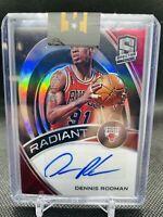 2019-20 Spectra Prizm Radiant Dennis Rodman AUTO /99 Chicago Bulls