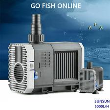 Sunsun CHJ-5000 Submersible Pump 5000L/H Aquarium Sump, Pond, Fountain Au plug