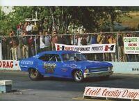 JUNGLE JIM AT CECIL COUNTY   8X12 DRAG RACING PHOTO