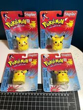 1 NOS 1999 Pokemon #25 Pikachu Stapler sealed In Package Buyer gets 1 Of The 4