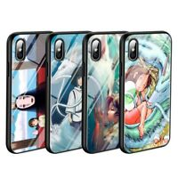 Spirited Away Anime Case iPhone 5 6 6S 7 8 + X XR XS 11 Pro Max SE 2nd gen