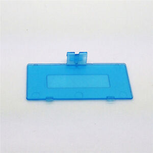 Transparent Clear Blue Battery Cover For Nintendo Game Boy Pocket GBP