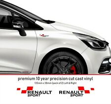 Renault Sport RS Performance Decal Premium 10 Year Vinyl Decal Stickers kit