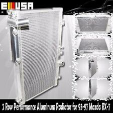"""2 Row 2"""" Performance RADIATORfor 93-97 Mazda RX-7 FD3S Manual Transmission ONLY"""
