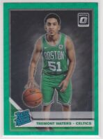 2019-20 Tremont Waters Optic Green Wave Prizm Basketball Rookie Card # 185