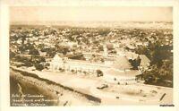 1920s San Diego California Hotel del Coronado Tennis Court Pool RPPC 11247