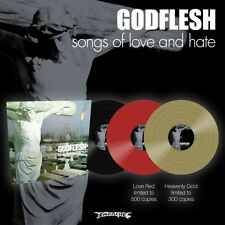 """Godflesh """"Songs Of Love And Hate"""" Heavenly Gold Vinyl - NEW"""